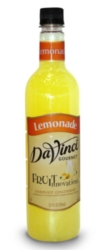 Davinci Fruit Innovations Syrup: Lemonade Concentrate - 750 ml. Plastic Bottle Case