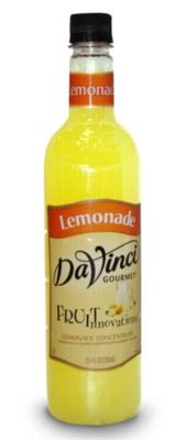 Davinci Fruit Innovations Syrup: Lemonade Concentrate - 750 ml. Plastic Bottle