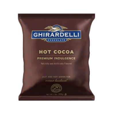 Ghirardelli Premium Water Soluble Hot Cocoa Powder: Double Chocolate - 2 lb. Bag