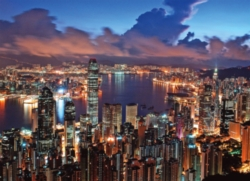 Tomax Jigsaw Puzzles - Hong Kong Night Scene