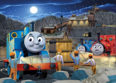 Jigsaw Puzzles for Kids - Thomas & Friends™ - Night Work