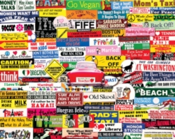 Jigsaw Puzzles - Bumper Stickers