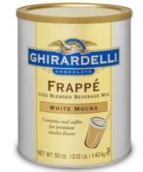 Ghirardelli Frappe (W/ COFFEE) - 3.12lb Cans Case