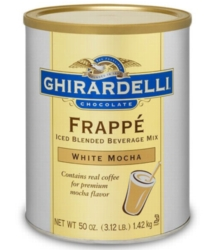Ghirardelli Frappe (W/ COFFEE) - 3.12lb Assorted Cans Case