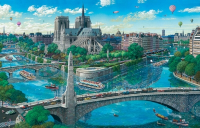 Jigsaw Puzzles - Notre Dame