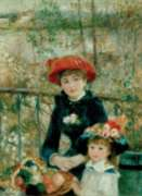 Tomax Jigsaw Puzzles - Two Sisters on the Terrace