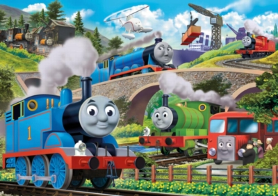 Jigsaw Puzzles for Kids - Thomas & Friends™ - Busy Bridges