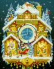 Christmas Cuckoo Clock - 1000pc Jigsaw Puzzle By Vermont Christmas Company