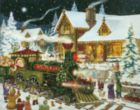 Santa's Express - 1000pc Jigsaw Puzzle By Vermont Christmas Company