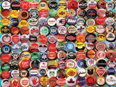 Jigsaw Puzzles - Beer Caps