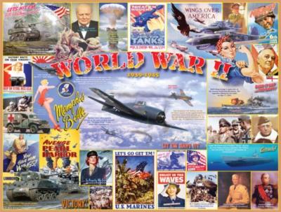 Jigsaw Puzzles - Word War II