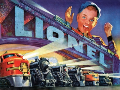 Jigsaw Puzzles - Lionel Catalog Series 1952