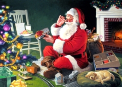 Jigsaw Puzzles - Santa's Favorite Delivery
