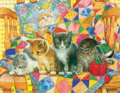 Jigsaw Puzzles - Rocking Kittens