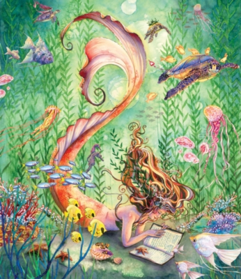 Jigsaw Puzzles - Mermaid's Quiet Moment