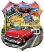 Shaped Jigsaw Puzzles - Southwest Cruisin'