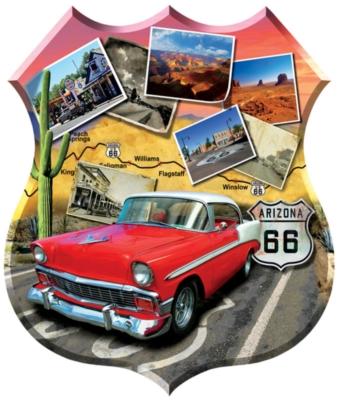 Shaped Jigsaw Puzzles - Southwest Cruisin'