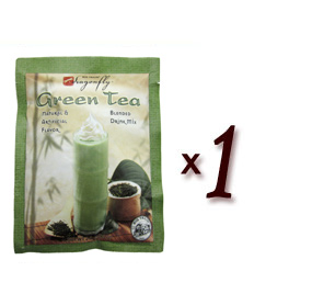 Big Train Blended Ice Green Tea Smoothie (Dragonfly) - Single Serve Packet