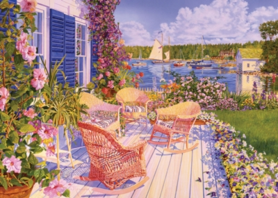 Jigsaw Puzzles - Maxcy's View of the Cove