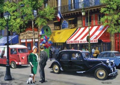 Jigsaw Puzzles - Streets of Paris