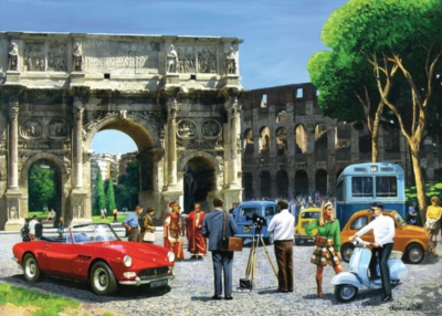 Jigsaw Puzzles - Streets of Rome