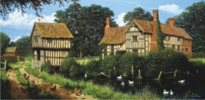 Perre Jigsaw Puzzles - Chicken In Lane