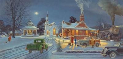 Jigsaw Puzzles - Winter Travels