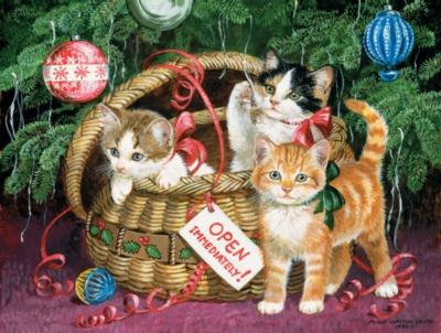Jigsaw Puzzles - Holiday Basket