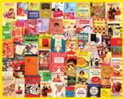 Jigsaw Puzzles - Cookbooks Collage