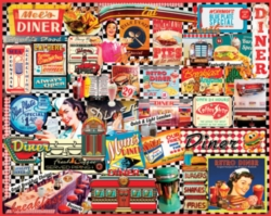 Jigsaw Puzzles - Diners
