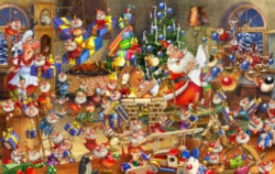 Hard Jigsaw Puzzles - Christmas Chaos
