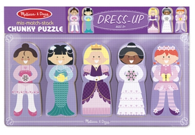 Children's Puzzles - Dress-Up
