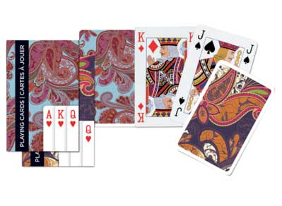 Paisley - Double Deck Playing Cards