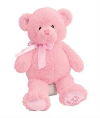 "My First Teddy (Pink) - 15"" Bear By Gund"