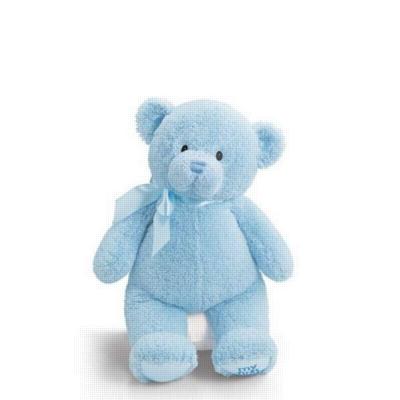 """My First Teddy (Blue) - 18"""" Bear By Gund"""