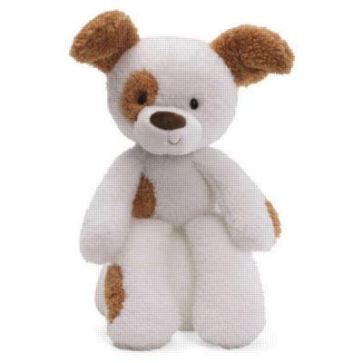 "Fuzzy Spotted Dog - 13.5"" By Gund"