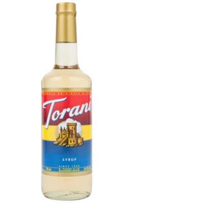 Torani Classic Flavored Syrups - 750 ml Glass Bottle