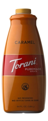 Torani Caramel Sauce - 64 oz. Bottle
