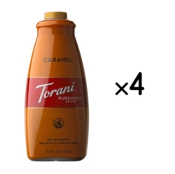 Torani Caramel Sauce - 64 oz. Bottle Case