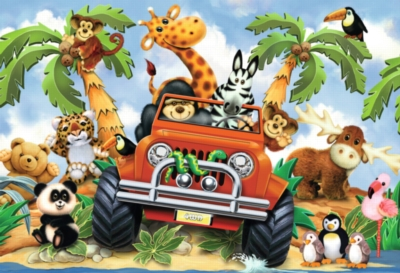 Floor Jigsaw Puzzles For Kids - 4