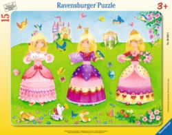 Jigsaw Puzzles for Kids - 3 Pretty Princesses