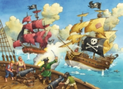 Jigsaw Puzzles for Kids - Pirate Battle
