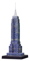 3D Puzzles - Empire State Building: Night Edition