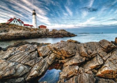 Ravensburger Large Format Jigsaw Puzzles - Lighthouse Rocks