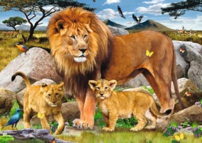Ravensburger Large Format Jigsaw Puzzles - Lion Pride