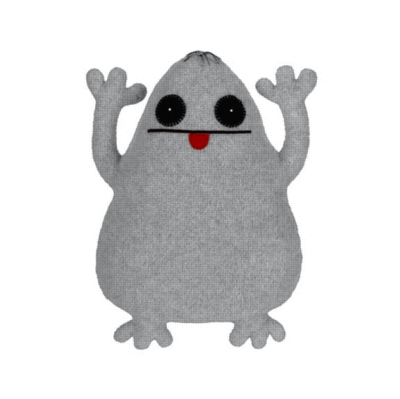 Ugly Ghost - 24'' by Uglydoll