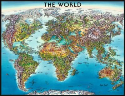 Ravensburger Jigsaw Puzzles - World Map