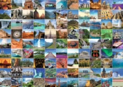 Ravensburger Jigsaw Puzzles - 99 Beautiful Places on Earth