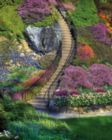 Garden Stairway - 500pc Jigsaw Puzzle by Springbok