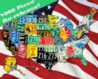 State Plates - 1000pc Jigsaw Puzzle by Springbok